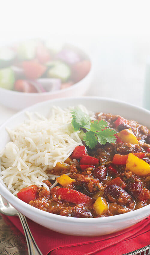 Chilli with beef