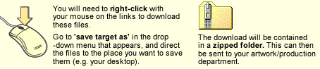 Tips for downloading your advert.