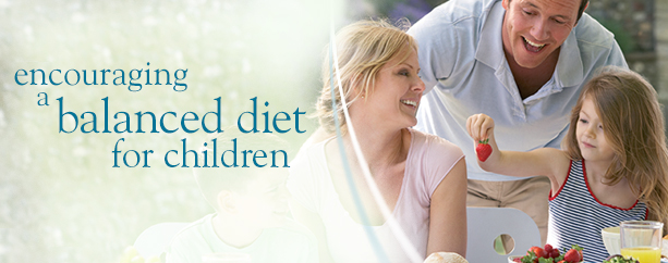 Encouraging a balanced diet for children