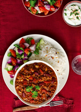 Beef and bean chilli con carne - Motivating articles ...