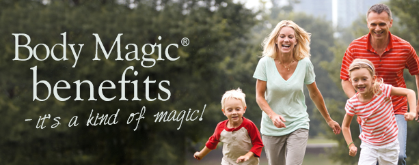 Brilliant benefits – it's a kind of magic!