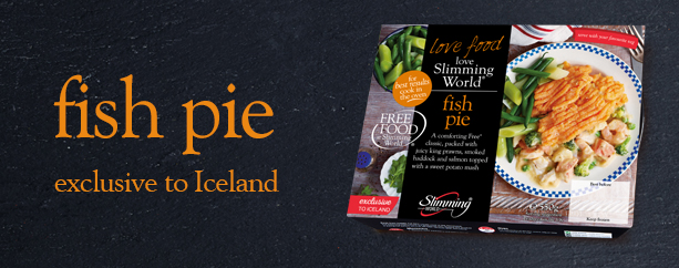 Slimming World fish pie