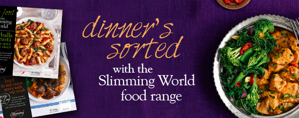 Dinner's sorted with the Slimming World food range