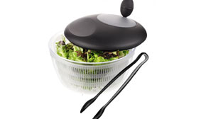 FREE Judge salad spinner and tongs