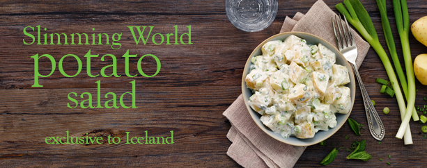 Slimming World potato salad