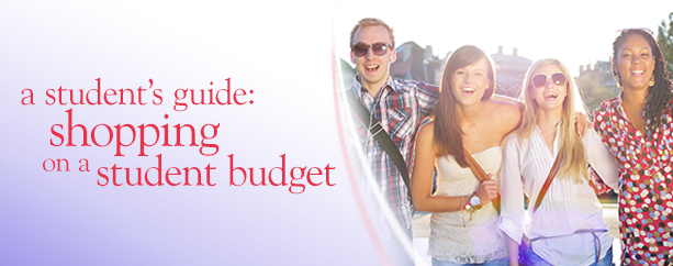 A student's guide: Shopping on a student budget