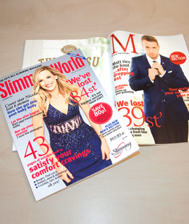 Slimming World Magazine Now With New Men 39 S Section