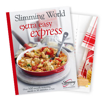 Extra easy express brand new cookbook out now news stories slimming world Simple slimming world meals