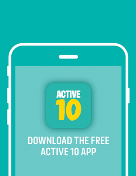 Get Walking With The Active 10 App News Stories