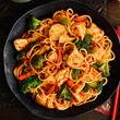 Aromatic chicken noodles