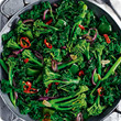 Chilli-garlic greens