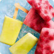Cocktail ice lollies