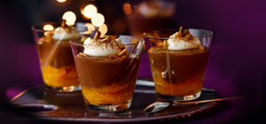 Cointreau, chocolate and orange pots