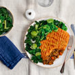 Cottage pie with root veg topping