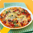 Double onion and thyme frittata