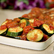 Easy Italian style courgettes