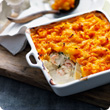 Luxury all-in-one fish pie