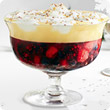 Mulled wine trifle