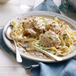 Paprika chicken with tagliatelle