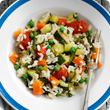 Quick vegetable risotto