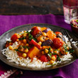 Roasted vegetable tikka masala