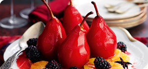Spiced pears - Recipes - Slimming World