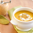 Spicy roasted root vegetable soup