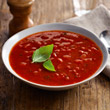 Tomato and basil soup