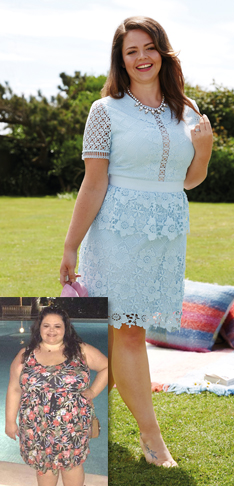 I lost 10 stone* for my wedding day