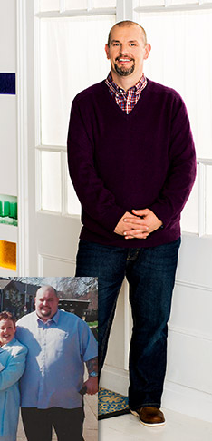 Sky-high blood pressure led to Gary's incredible weight loss