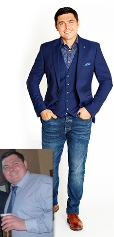 I lost over 6 stone* and repaired my relationship