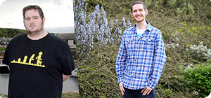 Tom's got a second chance after losing 14st 5lbs