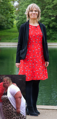 Holiday inspires Tracey to lose 18st* and return to work